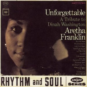 aretha franklin - unforgettable a tribute to dinah washington CD 1995 sony legacy used mint