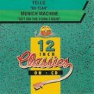 yello & munich machine - 12 inch classics on CD 1992 unidisc canada 2 tracks used mint
