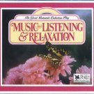 readers digest - music for listening & relaxation CD 4-disc box 1993 used mint