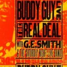 buddy guy live - the real deal with G.E. smith CD 1996 silvertone used mint