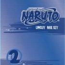 shonen jumo naruto 2 uncut boxset DVD 2002 VIZ used mint