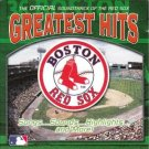 boston red sox - greatest hits - official soundtrack CD 2001 madacy BMG 17 tracks used mint