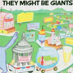 they might be giants - they might be giants Cd 1986 bar none 19 tracks used mint