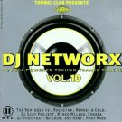 dj networx vol.10 - various artists CD 2-discs 2001 sony tunnel 40 tracks used mint