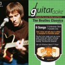 guitaraoke - Karaoke for your guitar Vol 1 Beatles classics CD 3-discs 2005 used mint