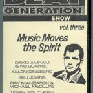 NY beat generation show vol. three - music moves the spirit VHS 1995 thin air used
