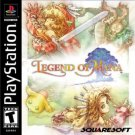 playstation - legend of mana - squaresoft 2000 teen used mint