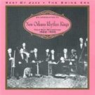Introduction to New Orleans Rhythm Kings - Their Best Recordings, 1922-1935 CD 1997 best of jazz