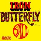 iron butterfly - ball CD 1999 collector's choice 11 tracks used mint