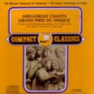 Gregorian Chants Grand Prix du Disque - Monks of the Benedictine Abbey CD used mint