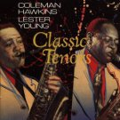 coleman hawkins & lester young - classic tenors CD 1989 CBS signature used mint