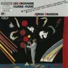 leo brouwer guitar music - jorge oraison CD 1987 etcetera west germany used mint