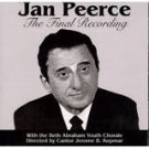 jan peerce with beth abraham youth chorale - final recording CD tara music 6 tracks used mint
