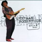 sherman robertson - here & now CD 1996 atlantic 12 tracks used mint
