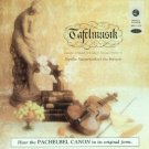 tafelmusik - popular masterworks of the baroque CD 1985 reference recordings used mint