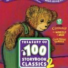 Scholastic Storybook Treasures - Treasury of 100 Storybook Classics Two DVD 17-disc set 2010 used
