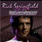 rick springfield live and kickin' DVD 2004 sound city 16 tracks 84 mins used mint