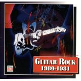 guitar rock 1980 - 1981 various artists CD 1994 warner time life 18 tracks used mint