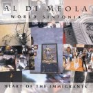 al di meola - heart of the immigrants CD 1993 mesa rhino BMG Dir used mint