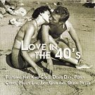 love in the 40's - various artists CD new sound 18 tracks used mint