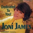 joni james - dedicated to you! CD 1991 beautiful music company 20 tracks used mint