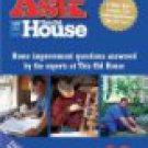 Ask This Old House - Complete First Season DVD 4-disc set 2004 time warner used mint
