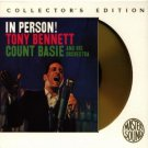 In Person! Tony Bennett + Count Basie and His Orchestra Gold CD 1994 sony used mint