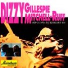 dizzy gillespie + mitchell-ruff duo CD 1993 sony mainstream 8 tracks used