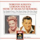dorothy kirsten + gordon macrae - music of sigmund romberg CD 1987 angel EMI used mint