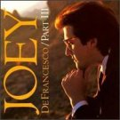 joey defrancesco - part III CD 1991 sony 11 tracks used mint
