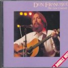 don francisco - live concert CD benson 18 tracks used mint