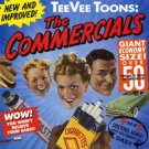 tee vee toons - the commercials CD 1989 TVT 55 tracks used mint