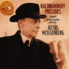 rachmaninoff preludes - alexis weissenberg CD 1990 RCA BMG Direct used mint