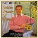 pat boone - golden treasury of hymns CD 2-discs 1999 gold label used mint