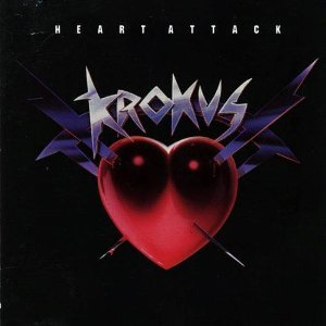 krokus - heart attack CD 1987 geffen 10 tracks used mint