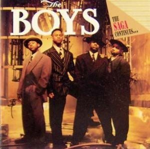 the boys - the saga continues ... CD 1992 motown 12 tracks used mint