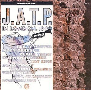 jazz at the philharmonic london 1969 - various artists CD 1989 pablo