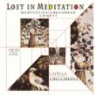 lost in meditation - meditative gregorian chants CD 1997 delta 21 tracks used