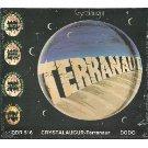 crystalaugur - terranaut CD 9 tracks dodo comet italy used mint