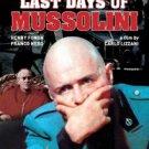 last days of mussolini - rod steiger + henry fonda DVD 2006 noshame used mint