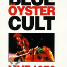 blue oyster cult - live 1976 DVD 1991 binding energy 1998 image 11 tracks used mint