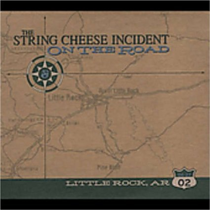 string cheese incident - on the road little rock AR CD 3-discs + sticker 2002 sci fidelity used mint