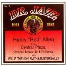 "henry ""red"" allen - dr. jazz volume 9 CD 1995 storyville 14 tracks used mint"