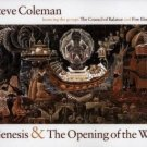 steve coleman - genesis & the opening of the way CD 2-discs 1997 RCA victor used