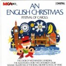 an english christmas - festival of carols CD 1986 MCA 17 track used mint