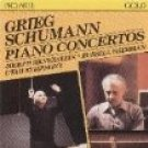 grieg & schumann - piano concertos - silverstein & sherman CD 1986 intersound proarte