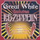great white salutes led zeppelin CD 2005 legacy 10 tracks used mint