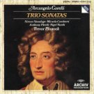 arcangelo corelli - trio sonatas - trevor pinnock CD 1987 polydor archiv used mint