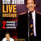 tim allen live on stage - 2 standup comedy concerts DVD 2006 morada vision 110 minutes used mint