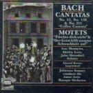Bach: Cantatas 53, 158, 211, Motet: Furchte dich nicht, Der Geist hilft unserer Schwachheit auf CD